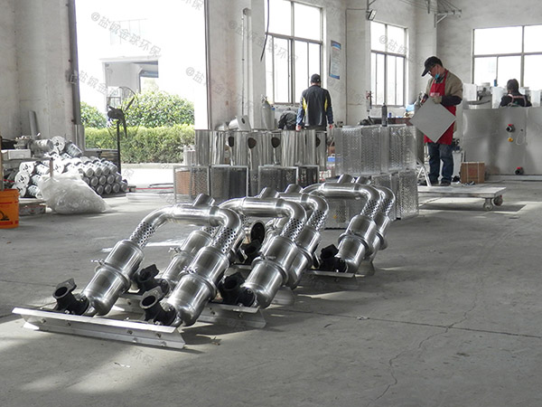 商业大半自动隔油池提升一体化设备标准