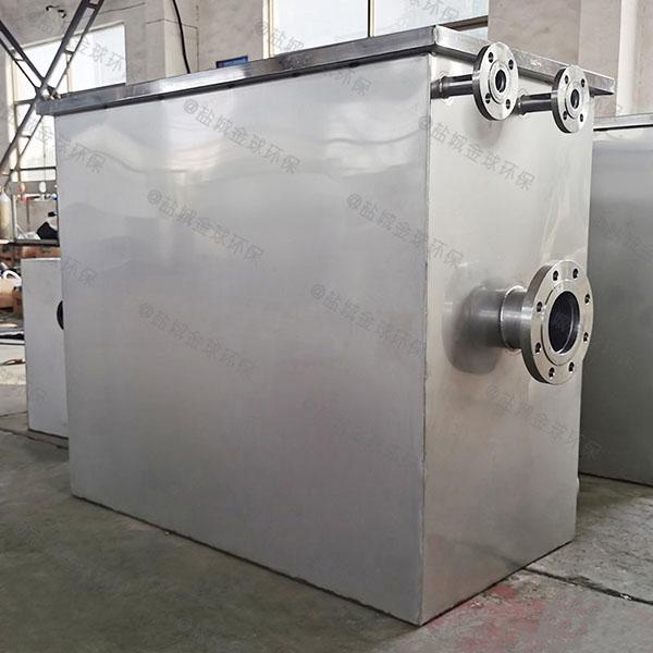 厨下型大型埋地式全能型油水分离处理机怎么样