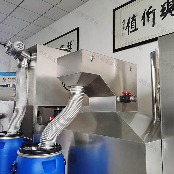 餐饮商户大地上自动刮油潲水油水分离器供应厂家