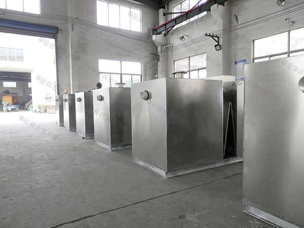 饭堂中小型地下室全自动智能型一体式隔油提升设备原理