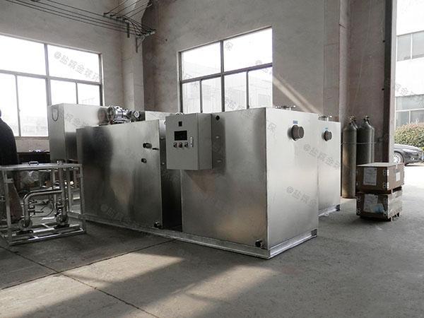 食堂地埋式中小型自動排水油水分離器除臭是什么樣子的