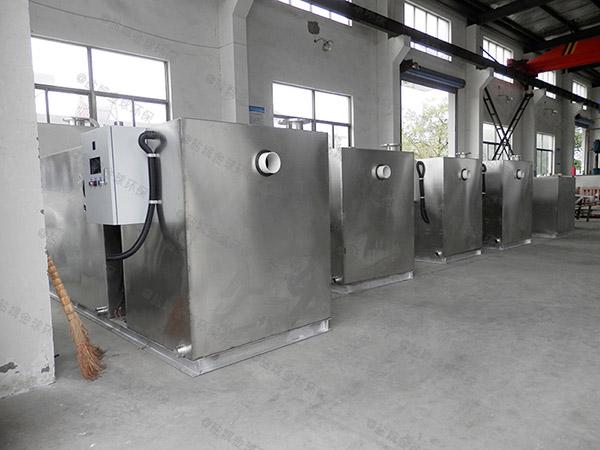 居家用中小型地上全自動楚雄隔油器自動提升裝置的圖集