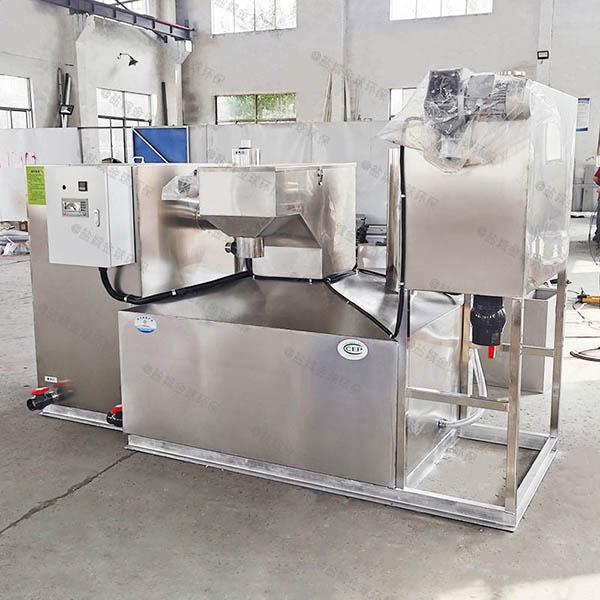 廚余地下式組合式氣浮式油水分離機做法