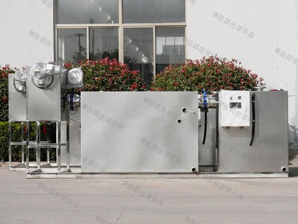 餐館地下式中小型全自動智能型氣浮油水分離器技術公司