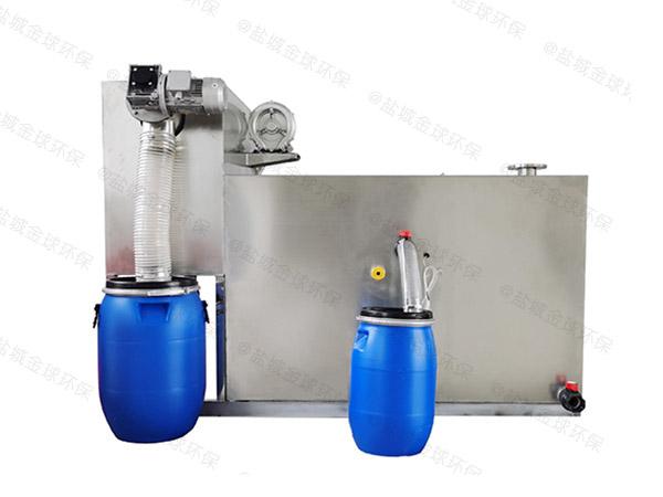 飯館地面式中小型移動式隔油凈化設備廠家中哪個比較好