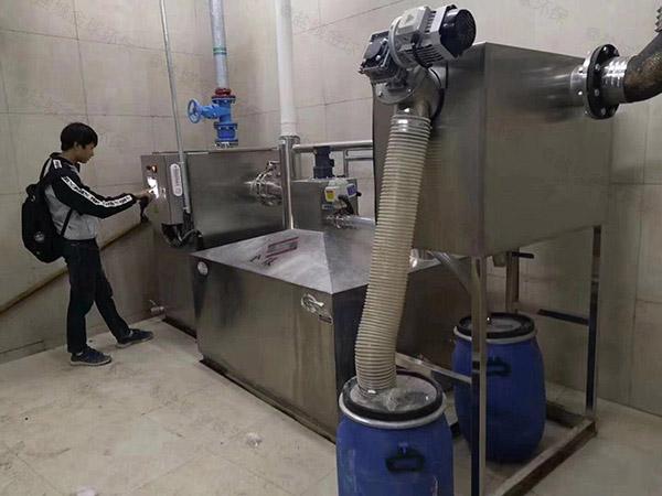 廚下型大型地下式智能化油水分離機調試方案