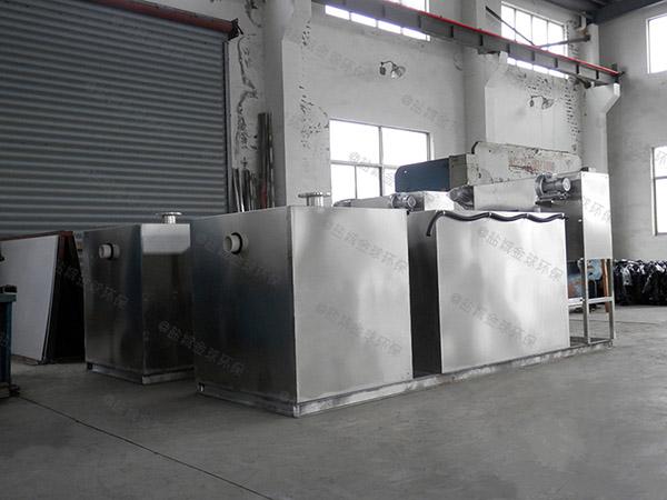 火鍋店地面自動化水油分離處理設備的選擇