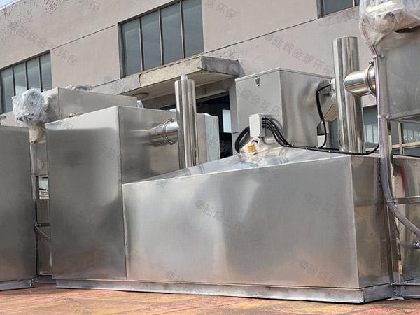 廚房用地面式中小型全自動智能型下水西雙版納隔油池規格價格