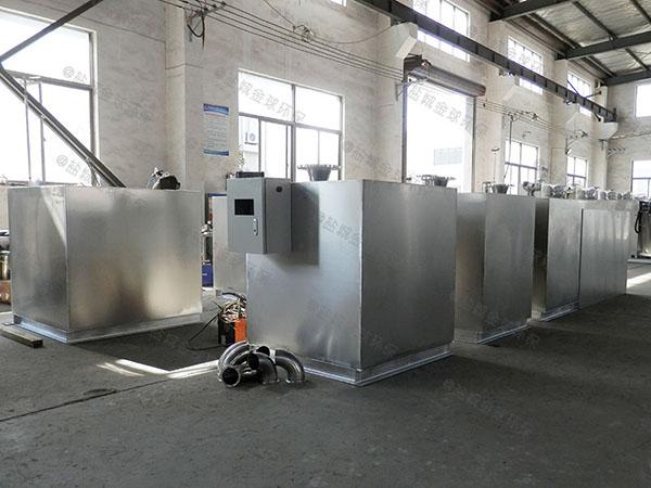 厨房用大型室外自动除渣一体化油脂分离设备技术