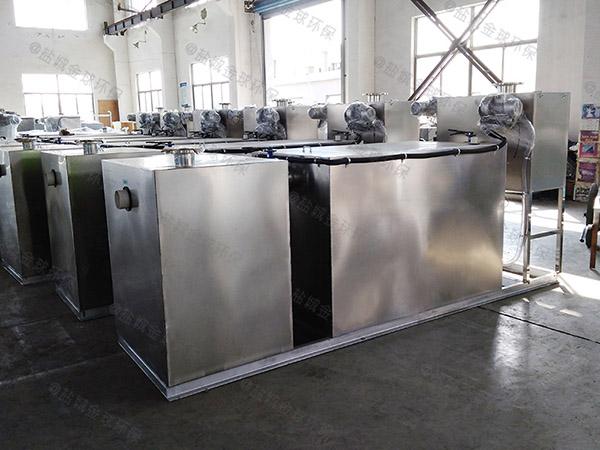 工廠食堂埋地式全自動智能型一體化隔油強排設備代理