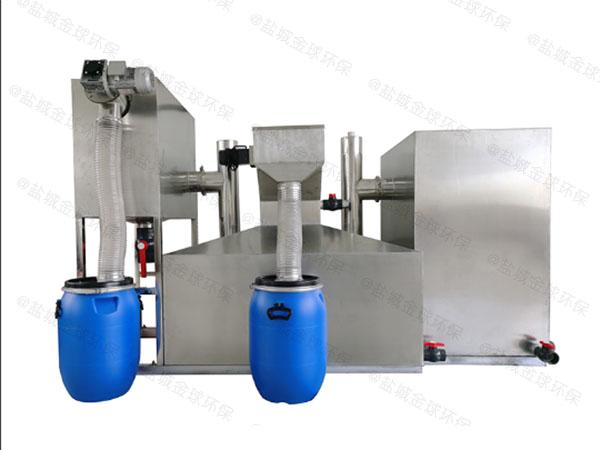 餐廳廚房大型地上全自動智能型隔油裝置廠家中哪個比較好