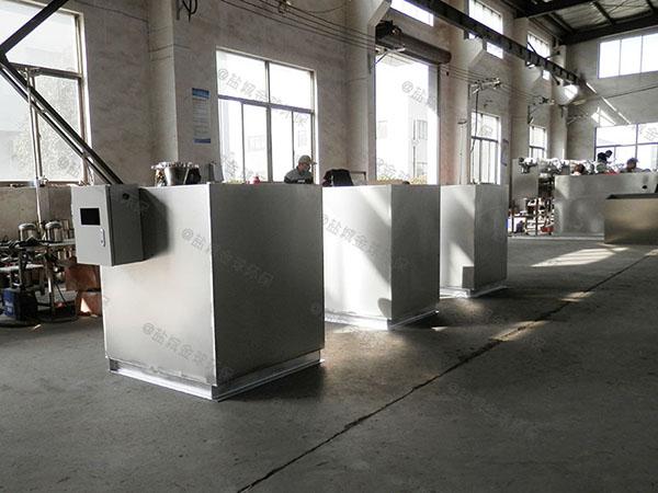 廚余大型地下多功能不銹鋼油水分離器廠家價格