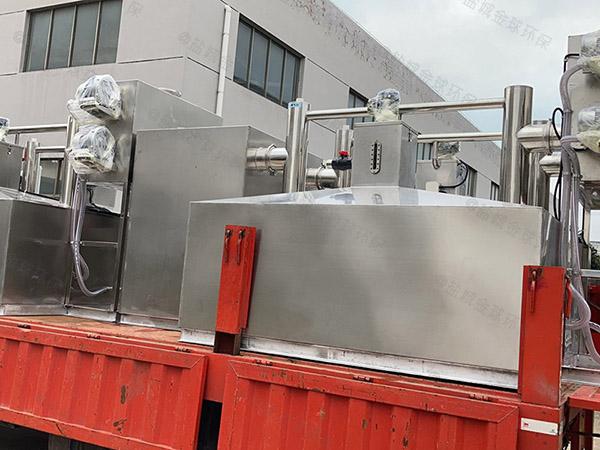 火鍋專用大埋地簡易油水過濾分離器的報價