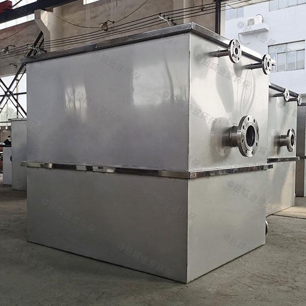 飯堂自動提升油水過濾器處理效率