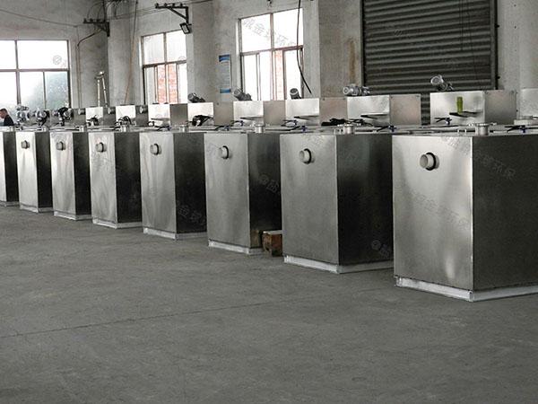 餐飲行業大型室外移動式隔油除油設備屬于設備嗎