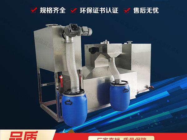 工程大型室內自動排水隔油提升一體機系列