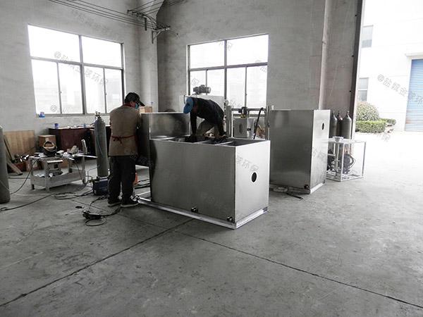提供商場1000人壓縮空氣一體式隔油設備