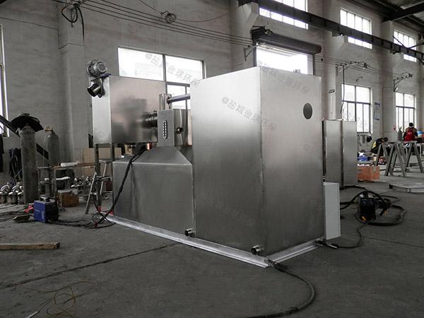 廚余2號用磚做隔油除渣器如何選型