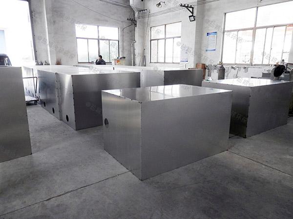 2.8米*1.2米*1.75米住宅樓智能油水處理設備價錢