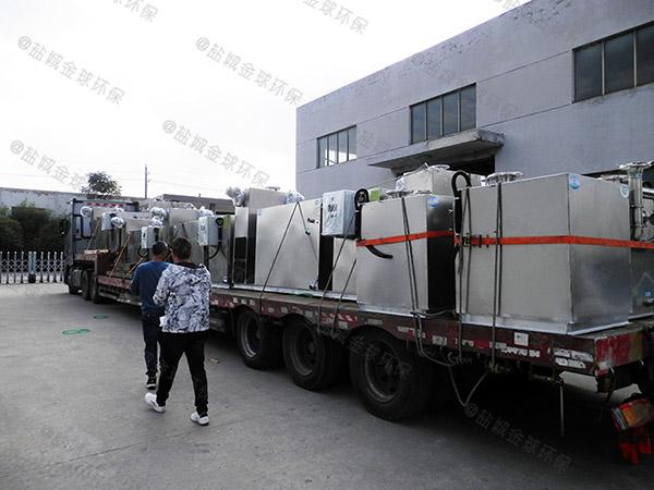 專業做戶外小型電加熱油污水分離器