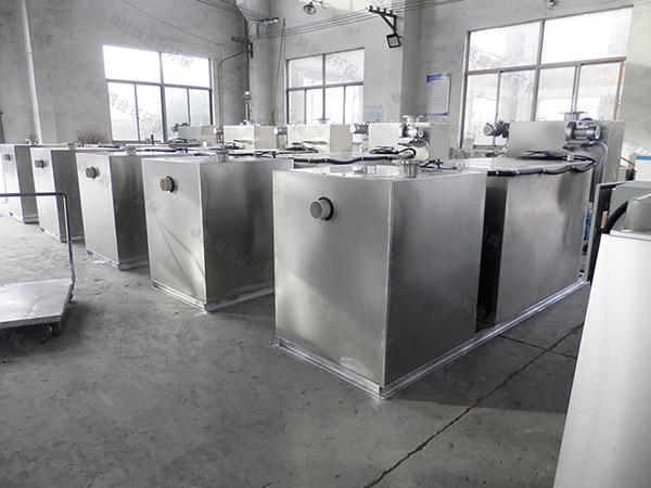 制作火鍋專用新款斜板油水分離器隔渣池