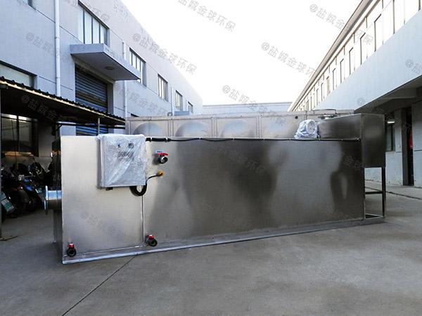 500人住宅樓自動隔油池成品圖紙