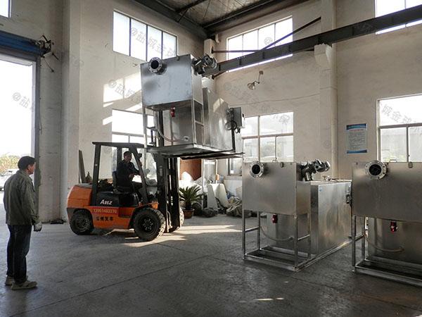 3.5米*1.35米*1.85米住宅樓自動化油水分離過濾器生產