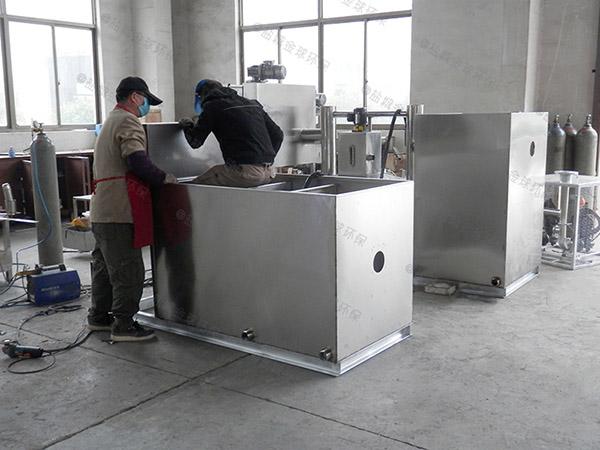 做火鍋專用環保地面油水分離一體化設備