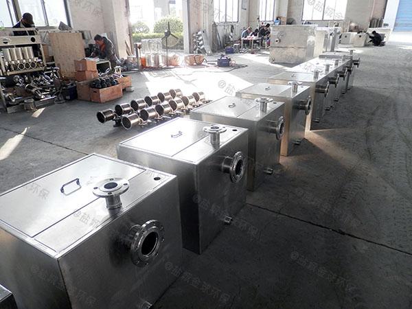 3.5米*1.35米*1.85米綜合體智能型餐廚垃圾油水分離設備生產廠家