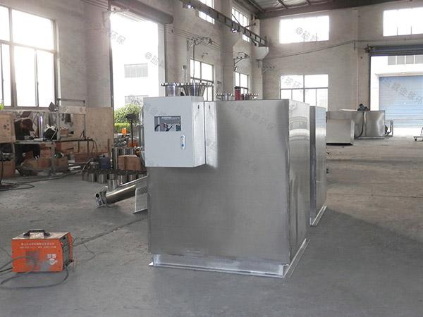 提供火鍋專用100人斜板潲水油水分離器