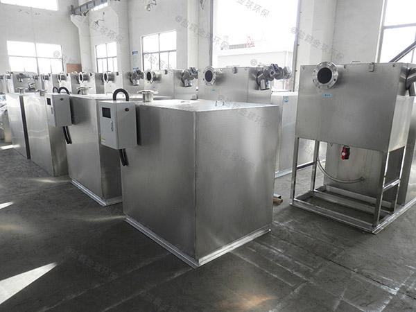 30立方食堂自動提升油水分離設備環保