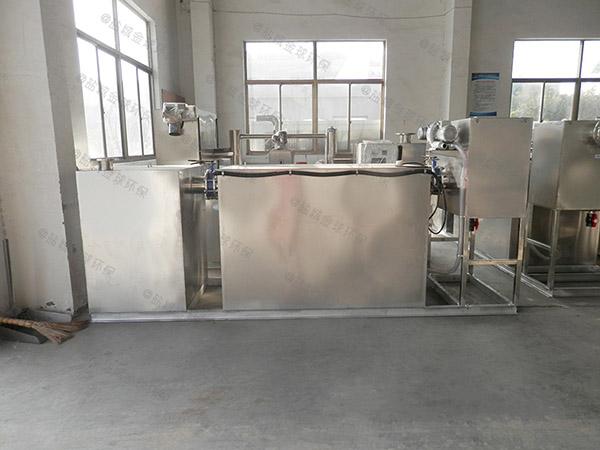 餐飲行業甲型隔油隔油過濾設備適用行業