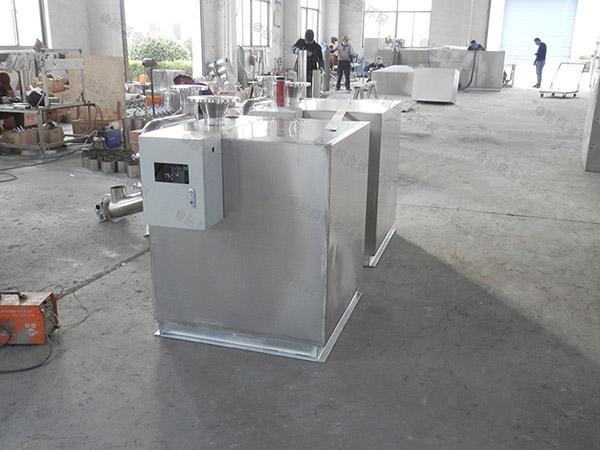 專業火鍋新款電加熱油水分離隔油池