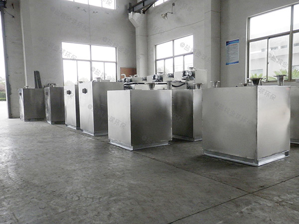 2.8米*1.2米*1.75米小餐飲污水垃圾處理器油水分離規格價格
