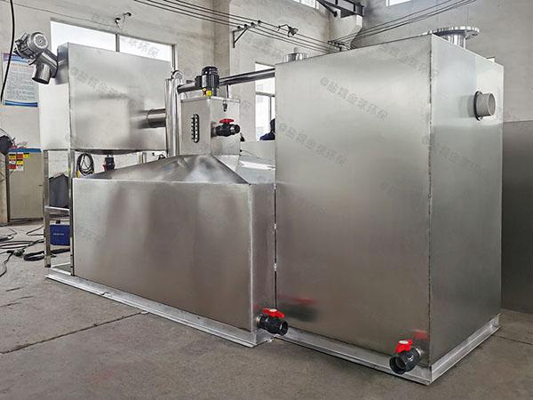 戶外隔渣磚砌油水分離器隔油池工藝