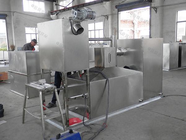 100人廚房下水廢水密閉隔油器改造廠家
