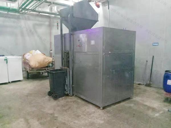 5吨智能厨余垃圾预处理设备参数