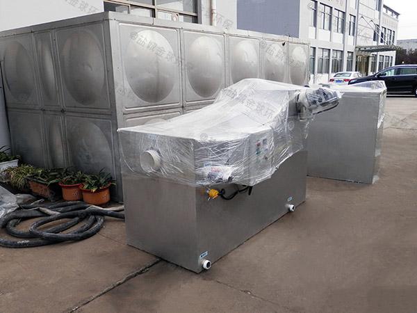 100人廚房洗菜盆下水泔腳排水隔油設備功能