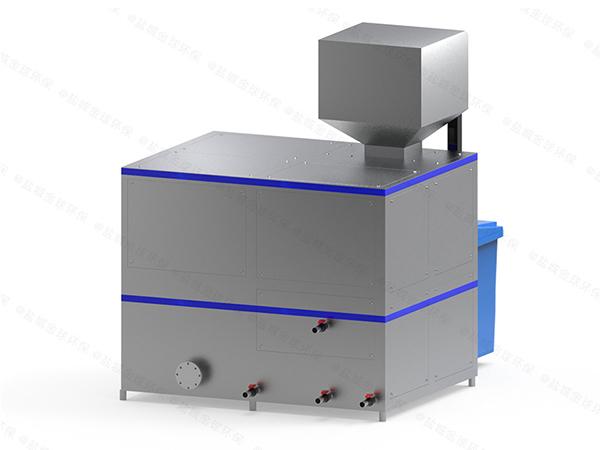 10噸自動化餐廚垃圾油水分離一體機