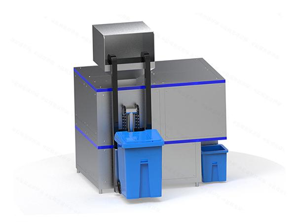 大中型自動化廚余垃圾一體化處理設備工藝流程