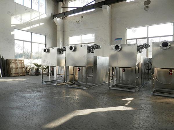 3.1米*1.2米*1.85米小餐飲店用磚做氣浮式油水分離機的用途