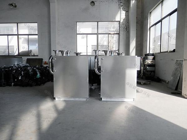 商場側排污水處理提升器不工作
