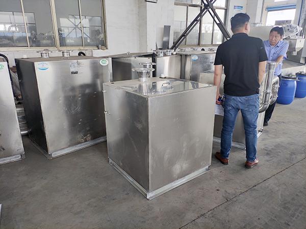 餐厅厨房地沟废水自动提升排水昭通隔油器定做