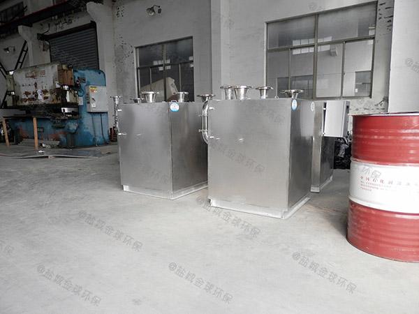 别墅地下室自动化污水隔油提升器耦合器施工方案