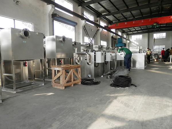 大型會館地下室自動粉碎污水提升處理器水管尺寸