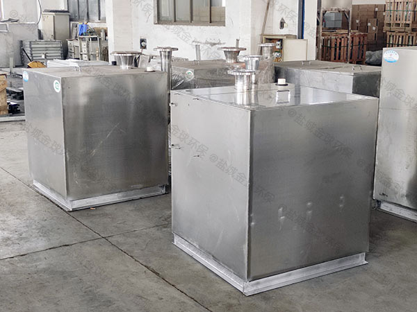 廚房洗菜盆下水用磚做自動氣浮隔油池的種類