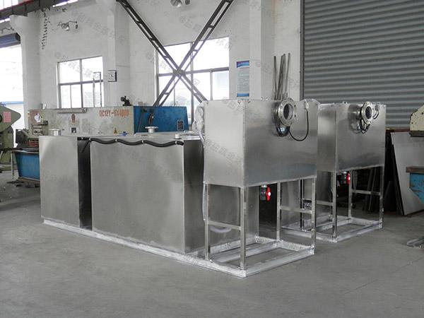 地埋式智能化厨房油水分离设备尺寸